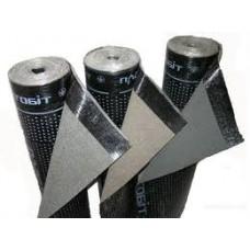 Полибуд ХКП 3,5 сланец серый, рубероид для крыши, 9 м2