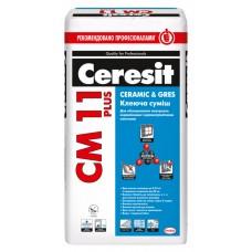 Ceresit СМ-11 Plus, усиленный клей для плитки, 25 кг