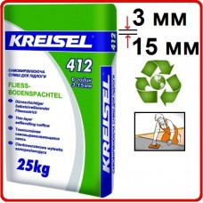 КREISEL 412, цементный наливной пол (3-15 мм), 25 кг