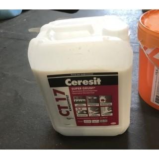 Ceresit CT-17 Супер, грунтовка глубокопроникающая (бесцветная) -