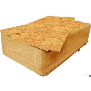 OSB-3 Европа, влагостойкая древесная плита, 1250х2500 мм -