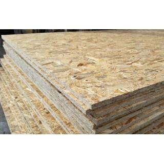 OSB-3 Украина, влагостойкая древесная плита, 1250х2500 мм -