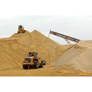 Песок речной, для строительства -