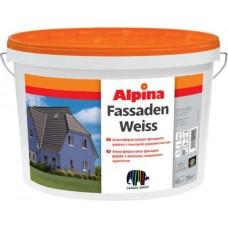 Alpina Fassadenweiss, акриловая краска 9,4 л