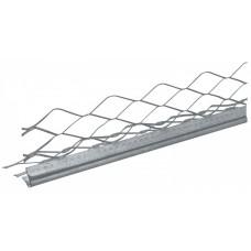 Угол с металлической сеткой для штукатурки, 3м.