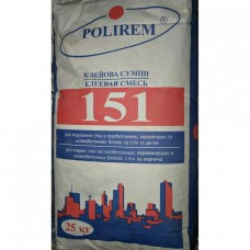 Полирем СКк-151 L, для кладки газо-,  керамических блоков, кирпича, 25 кг