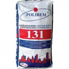 Полирем 131, для приклеивания и армирования утеплителя, 25 кг
