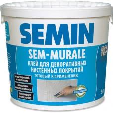 Semin Sem-Murale TM клей готовий для стеклообоев из ткани, 10 кг