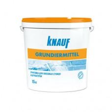 Knauf Грундирмиттель, грунтовка для гипсовых стяжек, 15 кг