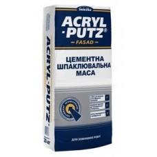 СНЕЖКА Acryl-Putz фасад, шпаклевка цементная универсальная (до 30 мм), 20 кг