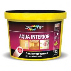 AQUA INTERIOR лак интерьерный, 10 л