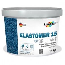 ELASTOMER 15 Штукатурка камешковая еластомерная, 15 кг