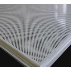 Албес Тегулар Белая Перфорированная, алюминевая подвесная плита