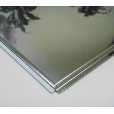 Албес Тегулар Супер-хром, алюминевая подвесная плита