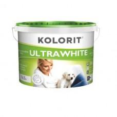 Колорит Ультравайт, акриловая краска для потолков, 10 л