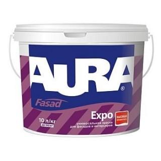 Aura Fasad, краска универсальная акриловая, 10 л