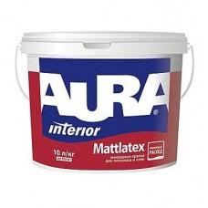 Aura Mattlatex, дисперсионная интерьерная матовая краска, 10 л