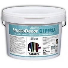 Капарол Stucco DI Perla Silber, Декоративная шпаклевочная масса с металлическим оттенком