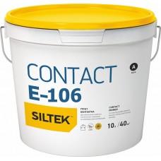 Силтек Е-106 бетоконтакт, адгезионная грунтовка с кварцем, 10 л