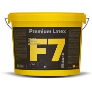 Шток F7 Premium Latex Краска для внутренних работ, 14 кг