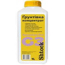 Шток G3 Аквастоп Про, грунтовка-концентрат, 1л