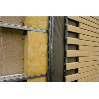 Dirock Фасад Стандарт, базальтовая вата 130кг/м3 -
