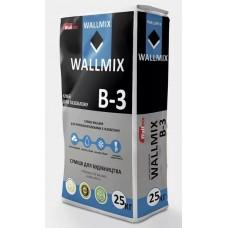 Wallmix B-3 Клей для газоблока, 25 кг