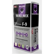 Wallmix F-9 Клей для приклеивания пенополистирольных плит, 25 кг