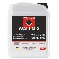 Wallmix Universal Грунтовка универсальная глубокопроникающая (10л/10кг)
