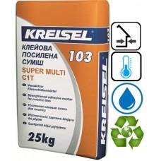 Kreisel 103 усиленный клей для керамической плитки, 25 кг