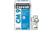 Ceresit СМ-9, клей для керамической плитки, 25 кг