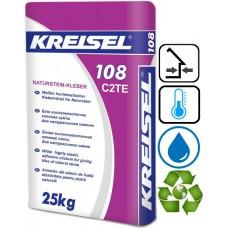 Kreisel 108 белый клей для натурального камня, 25 кг