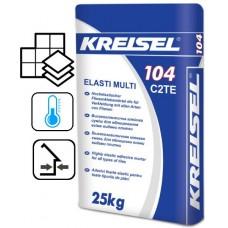 """Kreisel 104 """"Elasti Multi"""", клей для плитки, 25 кг"""