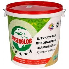 """Ансерглоб """"Камешковая"""", готовая декоративная силиконовая штукатурка , 25 кг"""