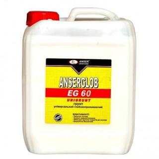 Ансерглоб EG-60, грунтовка универсальная глубокопроникающая, 10 л