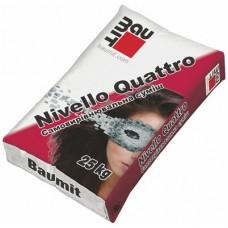 Baumit Nivello Quattro, цементный наливной пол (1-20 мм), 25 кг