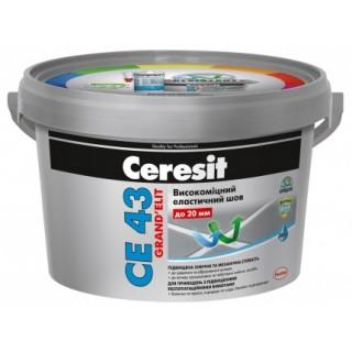 Сeresit CE 43, эластичный водостойкий шов (20 мм), 2 кг
