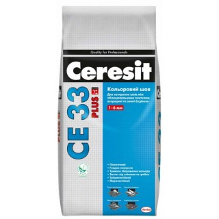Сeresit CE 33, затирка для плиточных швов, 2 кг