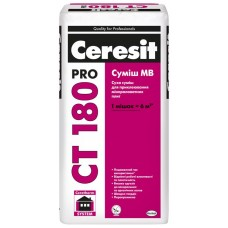 Ceresit CТ-180 Pro, для приклеивания минваты, 27 кг
