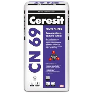 Ceresit CN-69, самовыравнивающийся наливной пол (3-15 мм), 25 кг