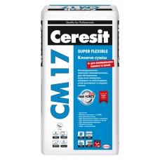 Ceresit CM-17, клей для плитки любого размера, 25 кг