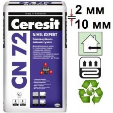 Ceresit CN-72, цементный самовыравнивающийся пол (2-10 мм), 25 кг