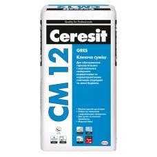 Ceresit CM-12 клей для крупной напольной плитки, 25 кг