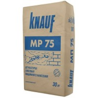 Knauf МП-75, штукатурка гипсовая универсальная (5-30 мм), 30 кг