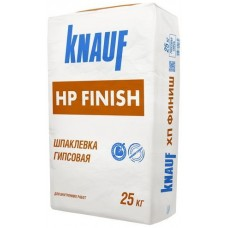 Knauf HP Finish, шпаклевка гипсовая финишная (1-3 мм), 25 кг