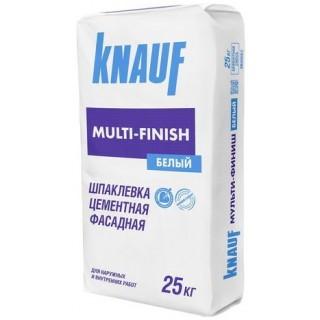 Knauf MultiFinish, шпаклевка гипсовая финишная (1-5 мм), 25 кг
