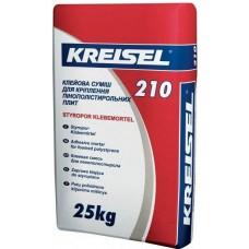 КREISEL 210, клей для пенополистирола, 25 кг