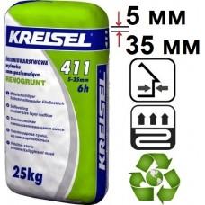Kreisel 411, цементный наливной пол (5-35 мм), 25 кг