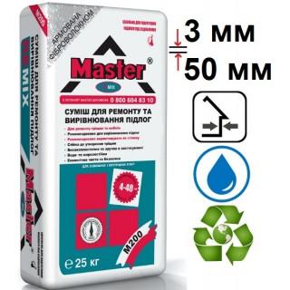 Мастер Ремикс, цементная стяжка (3-50 мм), 25 кг