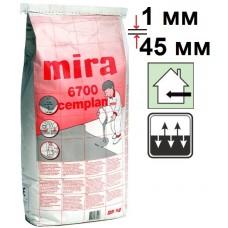 Mira 6700 cemplan, самовыравнивающийся наливной пол (1-45 мм), 25 кг